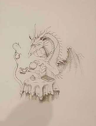Tea Dragon by Mark Calderwood